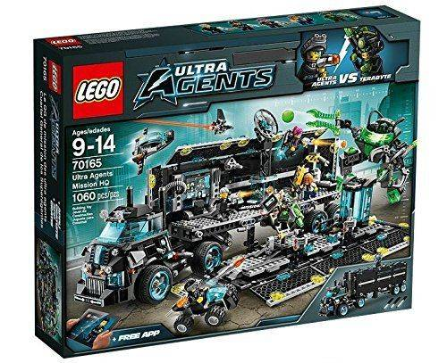 Original Lego Ultra Agents Ultra Agents Mission HQ 70165
