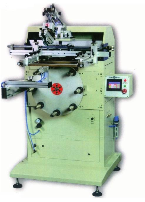 S-125RVS Pneumatic flat screen printer