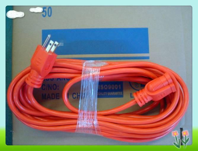 100ft 10-AMP 16-Gauge Orange Outdoor Extension Cord