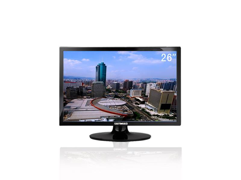 Sanmao 26 Inch TFT-LCD HD Industrial LCD Monitor HDMI Narrow Frame Design