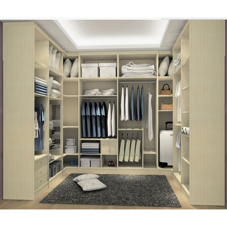 Description Specification Reviews (0) High quality modern walking closet WR026 Materials for wardr