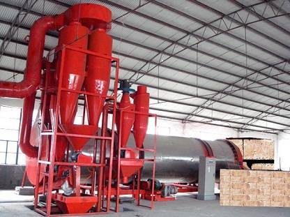 brewers grains rotary dryer