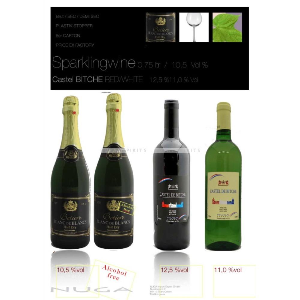 Riesling German white wine - 750 ml bottle
