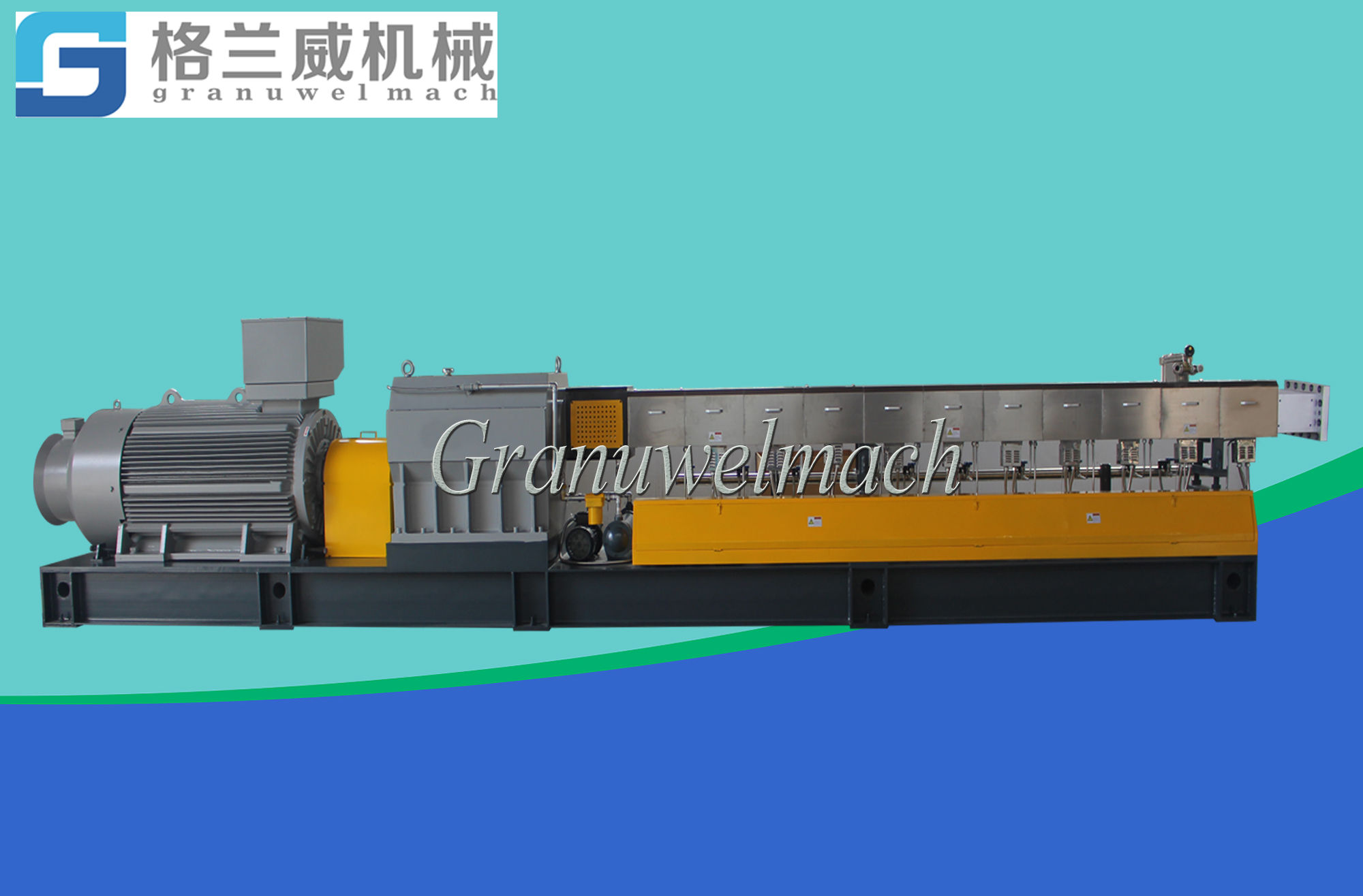 95 mm plastic twin screw extruder,PEEK granulator, TPV pelletizer