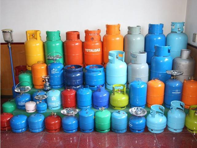 all kinds of LPG cylinder