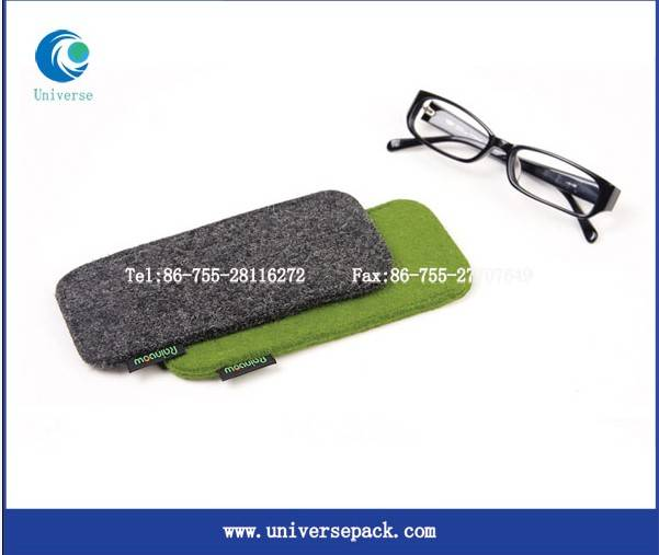 Wholesale felt sunglass pouch