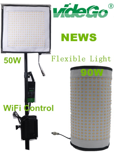 Vidego LED Flexible Light, Bi Color 50W