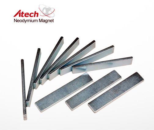 Industrial Magnet 1 inch x1/4 inch x1/8 inch Magnetic Plate Thin Magnet Bar