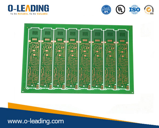 CEM-1 Based Material, 1-layer PCB, SGS-certified