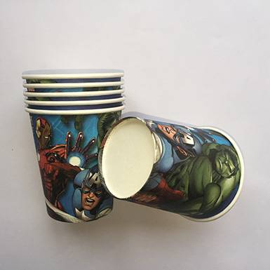 Wholesale Custom Printed The Avengers Party Cups