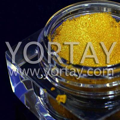 Bright Gold Printing and Coating Pearl Pigment