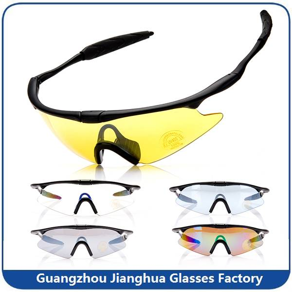 factory best selling product high quality anti UV cycling sunglasses military eyewear