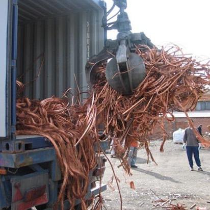 Pure Copper Wire Mill berry Scrap 99.9%