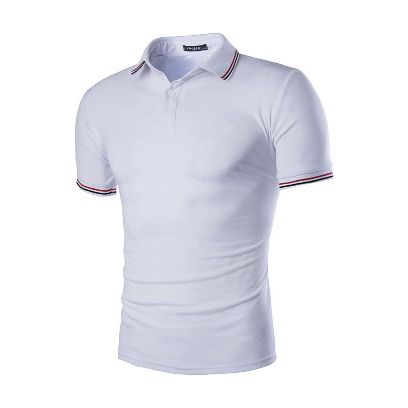 white poloshirts Men's polo shirts