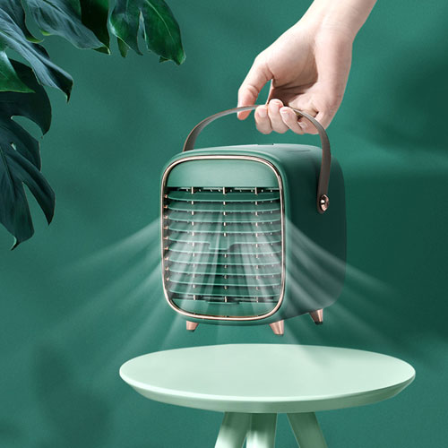 Personal Portable Air Cooling Conditioner Fan Mini Space Evaporative Water Cooler