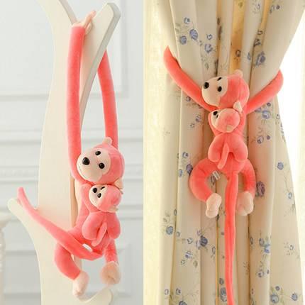 plush long arm monkey