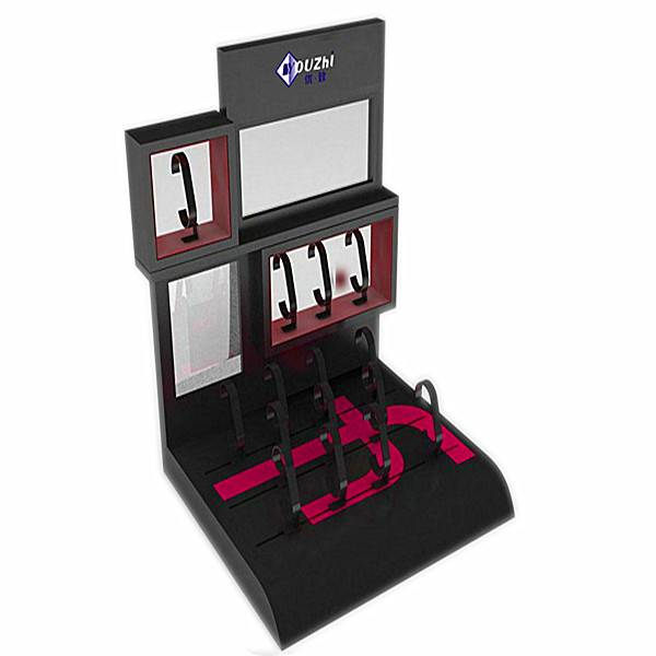 Fashion design wristwatch display stand for speciality stores