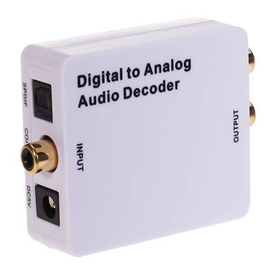 digital to analog audio decoder
