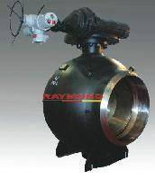 High-performance pipeline ball valve