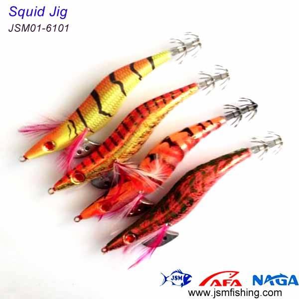 sea fishing hard plastic squid jig japanese