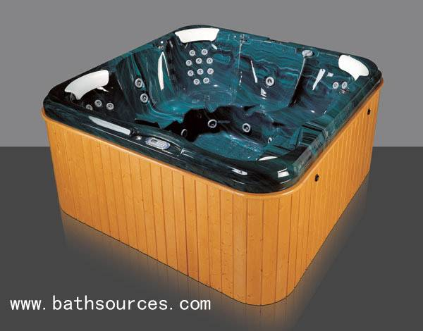 outdoor spa whirlpool surf massage bathtub