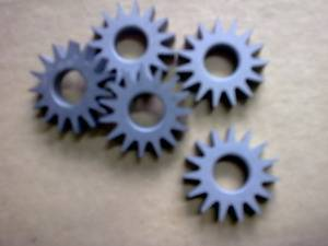 Tungsten Carbide Gear Hobbing