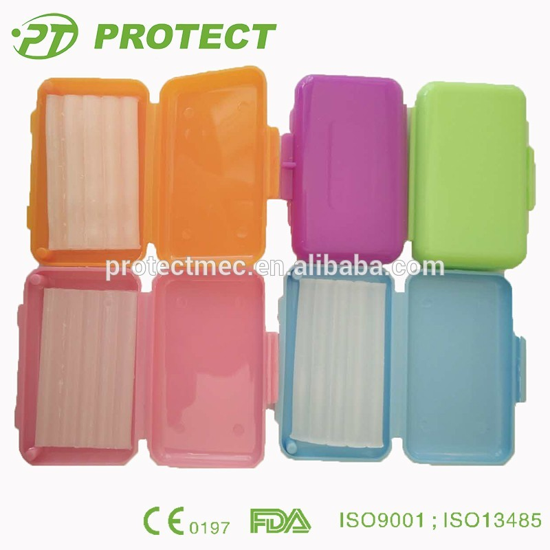 Protect dental wax orthodontic products