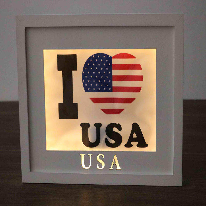 decorative country wooden wall plaques led