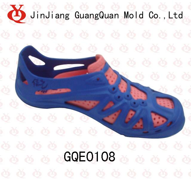 Two color EVA slipper mould GQE0108
