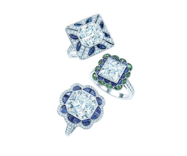 brass fashion jewelry ring