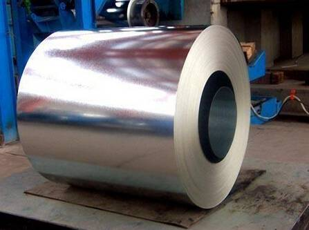 Filming Galvanized Steel Coi