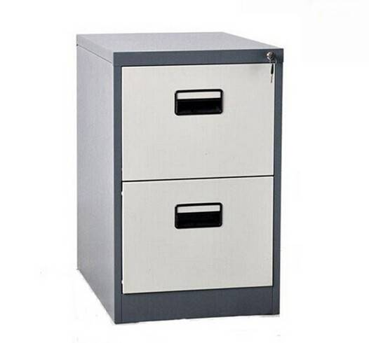 China manufacturer green material 2 drawers steel storage cabinet