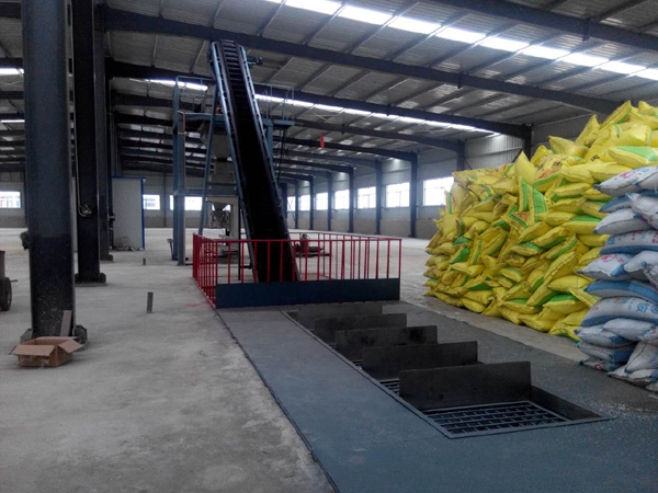fertilizer processing machine