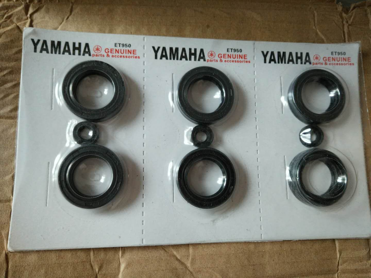 et950 oil seal(3 set in one card)/ Yamaha card / generator parts