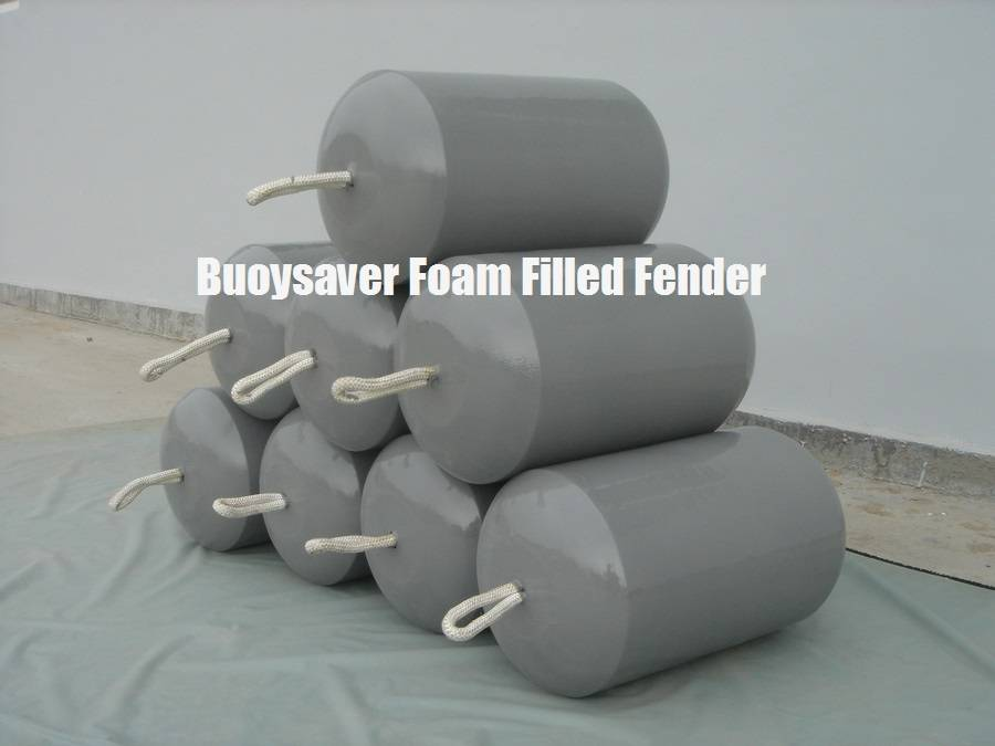Portable EVA Foam Fender, Baby Fender, Navy Grey Color Foam Buoy