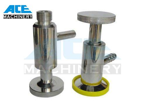 Stainless Steel Sanitary Clamped Normal Type Sampling Valve