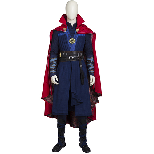 MANLUYUNXIAO New Men's Doctor Strange Costume Deluxe Outfit Carnival Cosplay Costume For Men Custom