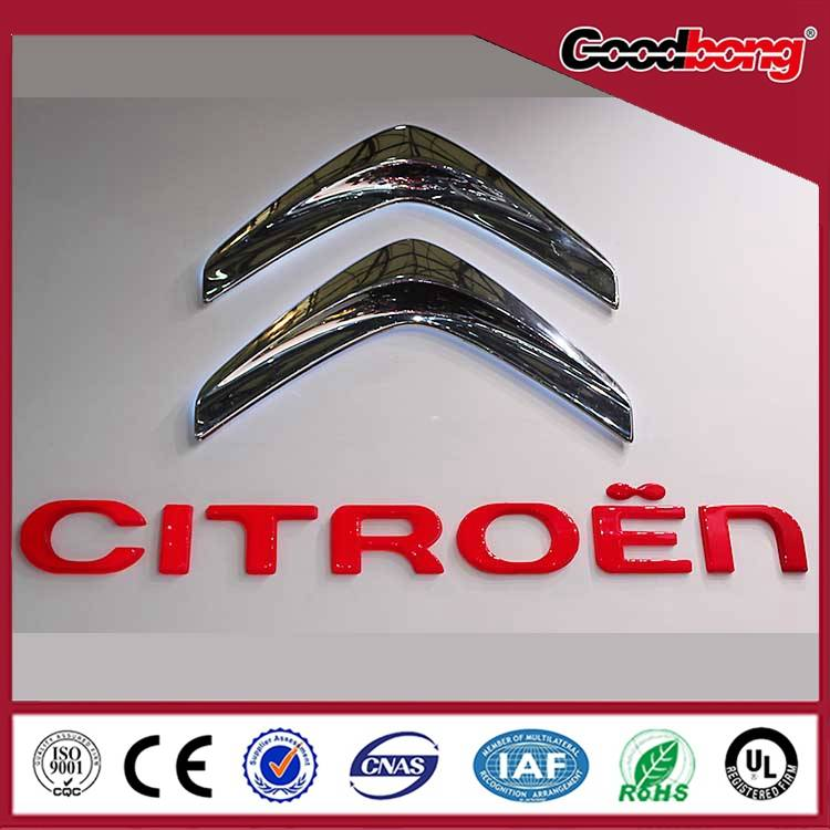 Professional customized 3d led car logo sign