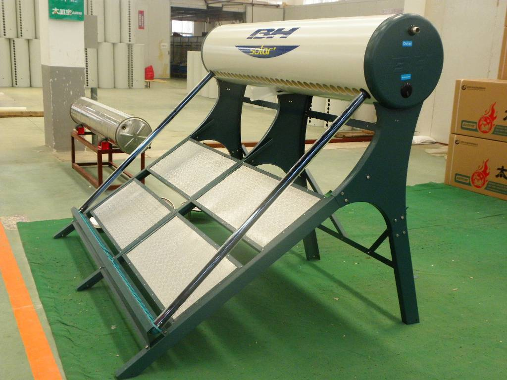 Direct Thermosiphon Nonpressure  Solar Water Heater
