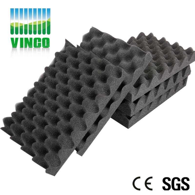 Acoustic soundproofing Egg shell foam for recording room decoration