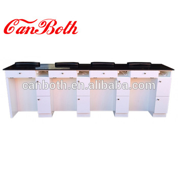 Modern manicure nail table luxury with dust collector CB-M751