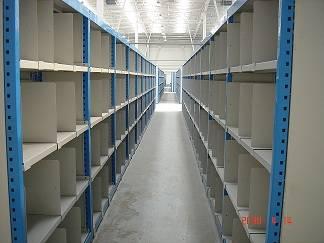 Warehouse shelf/rack