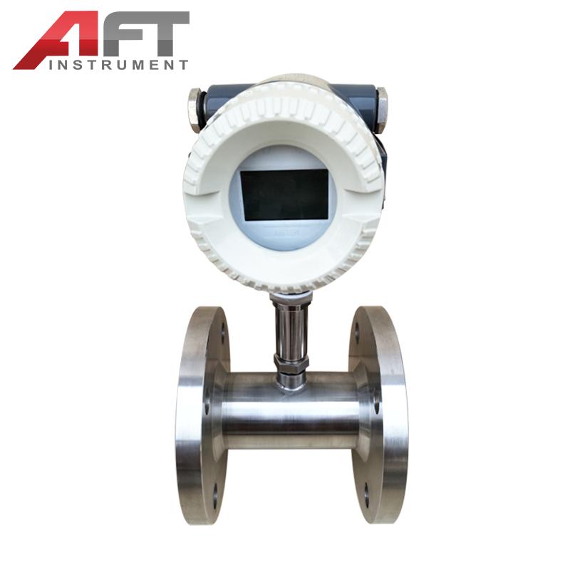 thread fuel oil petrol turbine flow meter