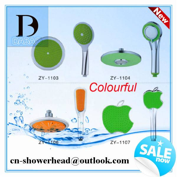 Rain SPA Plastic Water Saving Shower Head with Shower Hand