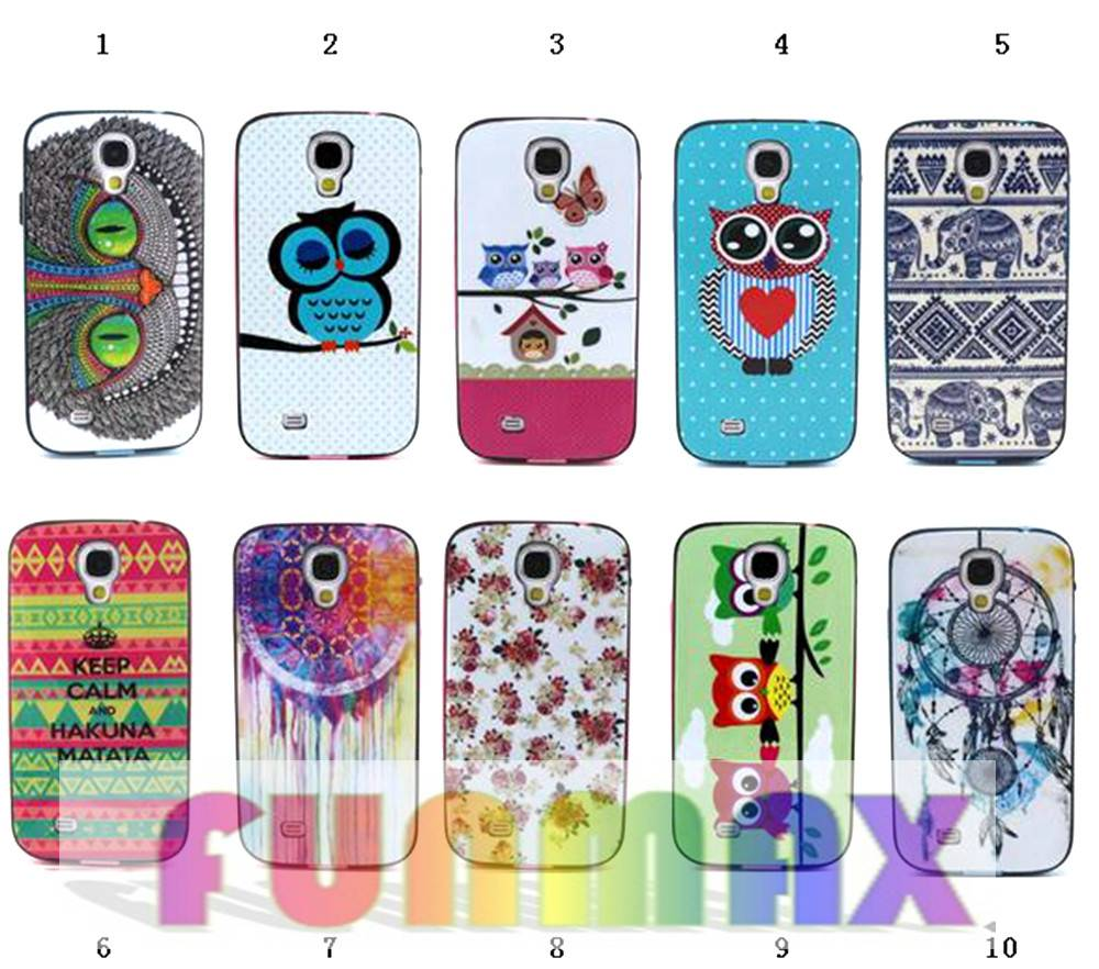 Samsung Galaxy S4 I9500 Multi-style Painted Series TPU + PC Protective Back Case Cover Skin Shell