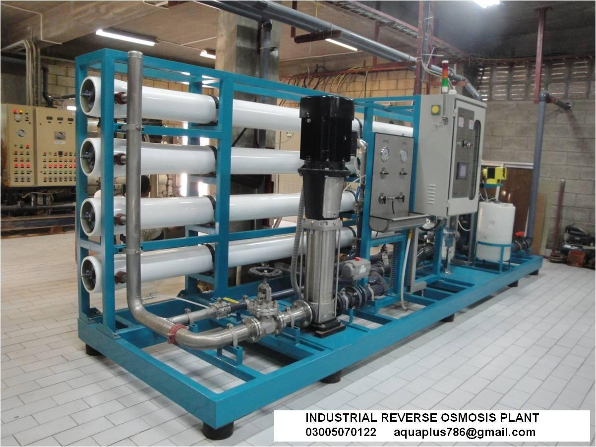 Industrial Reverse Osmosis Plant 03355070122