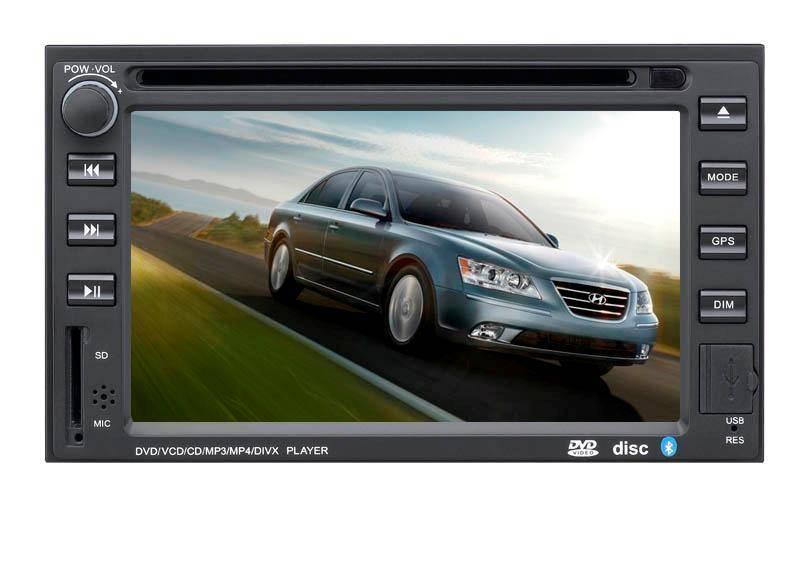 6.2 inch Car GPS DVD Player for Hyundai Sonata/Elantra/Tucson (Digital screen)