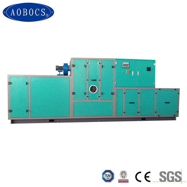low dew point desiccant dehumidifier for lithium battery factory