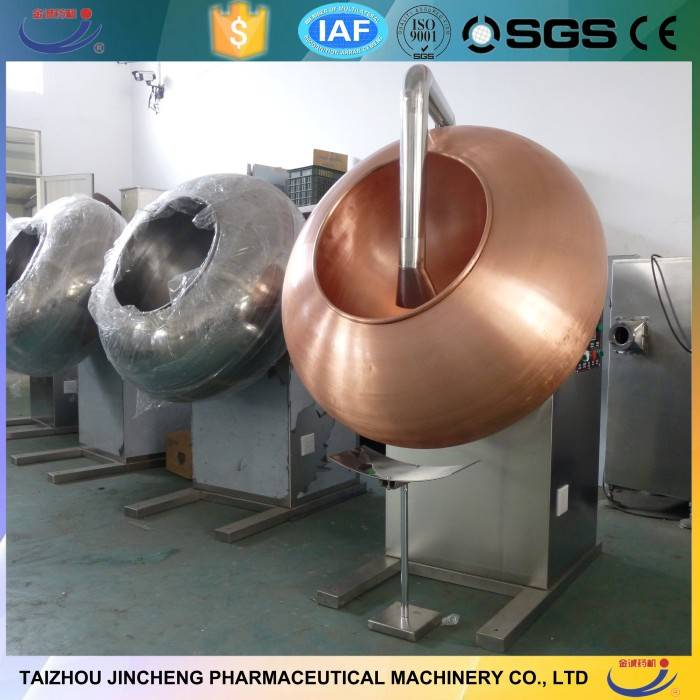 Copper pan sugar coating machine price