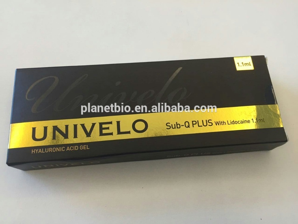 Univelo Hot Sale Ha Filler Finlines /Wrinkle Fil Forehead Wrinkle Removal /Face Care Reduce Faci